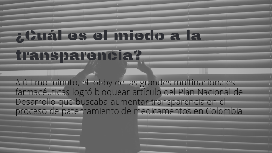 transparencia patentes