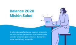 Balance 2020 Misión Salud